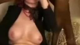 Porn zoo video кудрявая рыжая тетя в чулках порется с клячей
